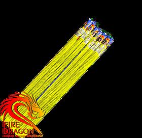 Блок римських свічок T6236, у блоці: 12 штук, кількість пострілів в одній свічці: 10, калібр: 10 мм