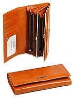 Женский кожаный кошелек ALESSANDRO PAOLI (W1-V оранжевый)