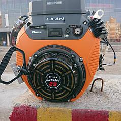 Двигатель Lifan 2V80F-2A (электростартер + ручной стартер)