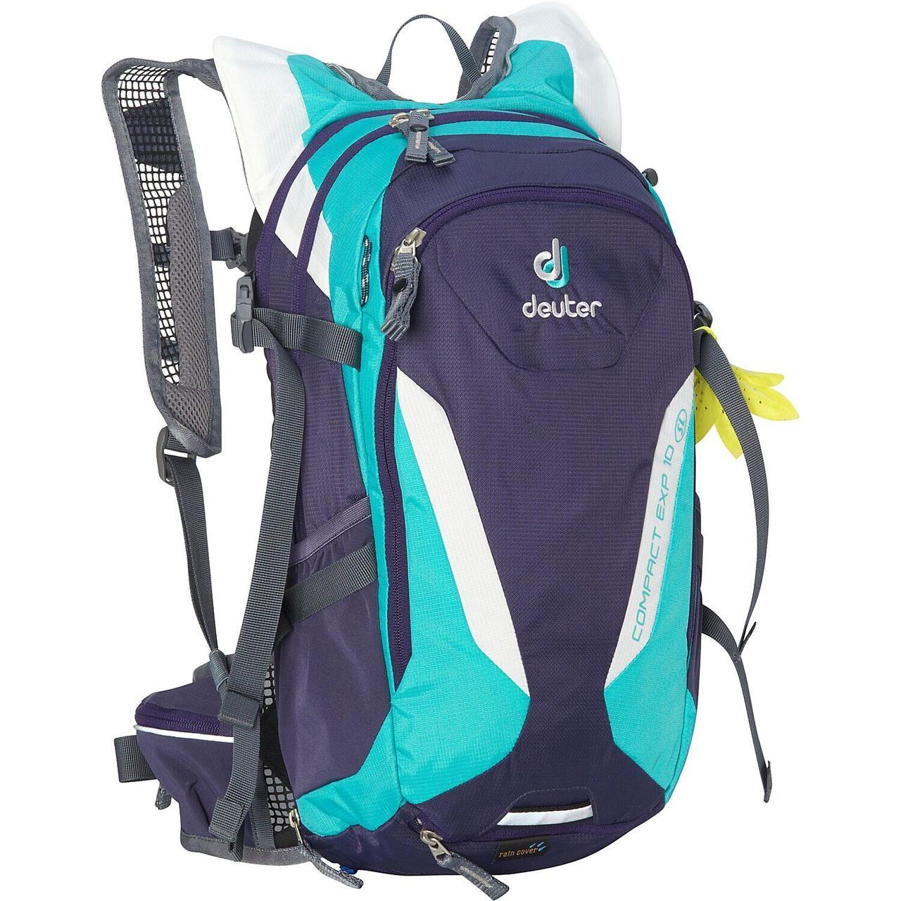 Велорюкзак Deuter Compact EXP 10 SL blueberry-mint (3200115 3207)