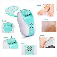 Электрическая роликовая пилка + фрезер для маникюра и педикюра