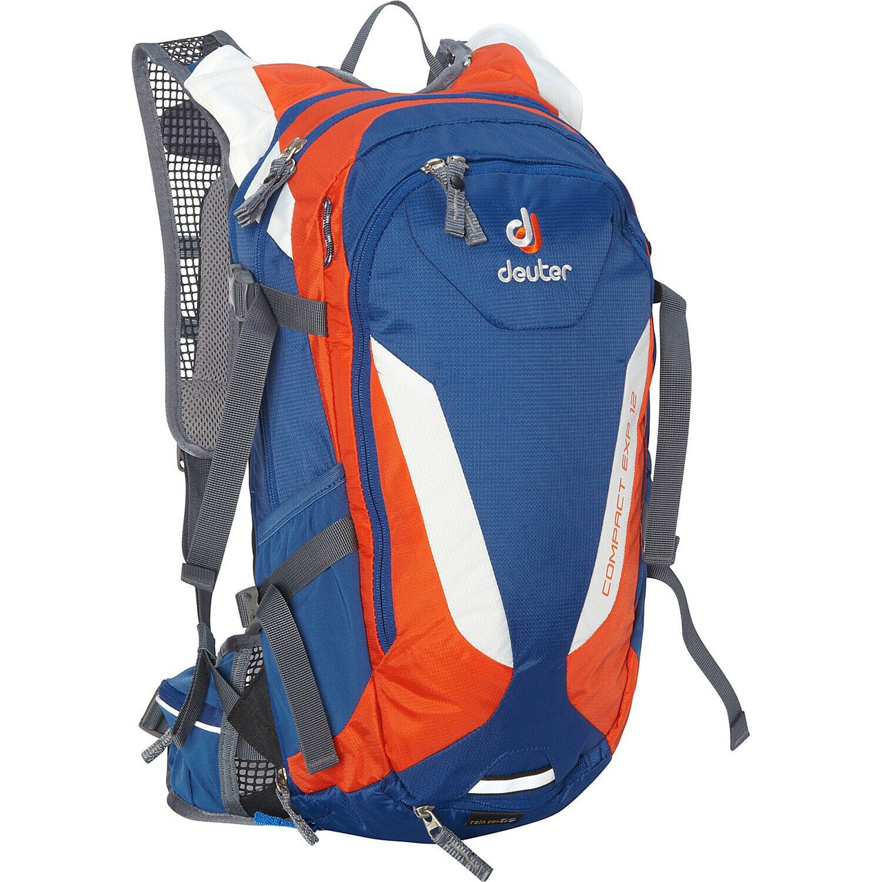 Велорюкзак Deuter Compact EXP 12 steel-papaya (3200215 3905)