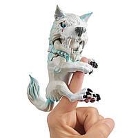 Интерактивная игрушка Фингерлингс Волк Untamed Dire Wolf by Fingerlings  Blizzard