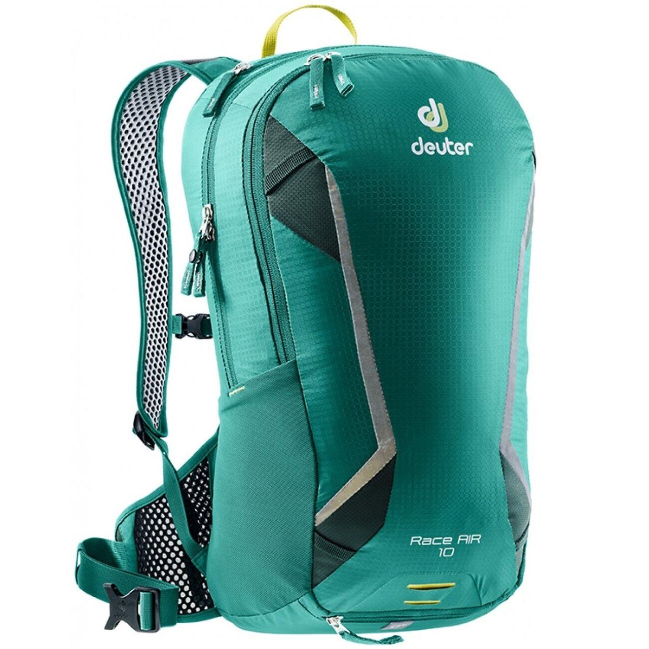 Велорюкзак Deuter Race Air 10 alpinegreen-forest (3207218 2231)