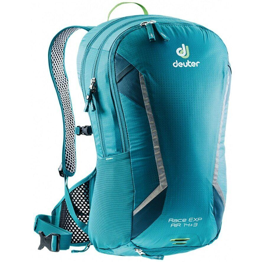 Велорюкзак Deuter Race EXP Air 14+3 petrol-arctic (3207318 3325)