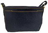 Джинсовая сумка РЫЖИЙ УЛЫБАКА, фото 4