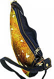 Джинсовая сумка РЫЖИЙ УЛЫБАКА, фото 3