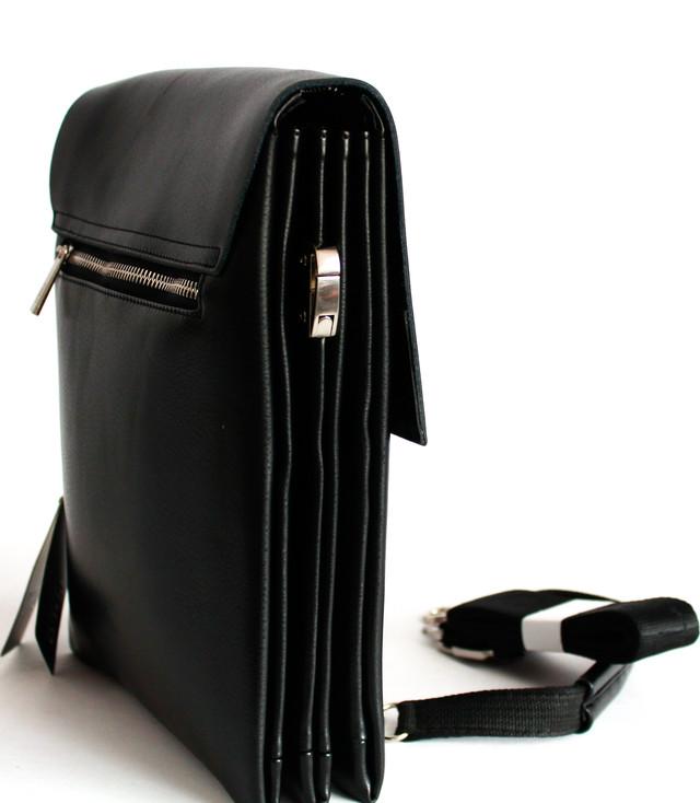 Сумка-планшет через плечо из кожзама Polo B886-1