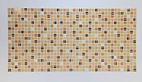 Панель ПВХ Регул Мозаїка Кави коричневий 955х488 мм