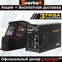 Сварочный инвертор Dnipro-M SAB-258N + Маска Хамелеон WM-31