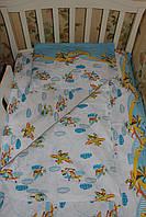 Комплект постельного в детскую 120*60 кроватку