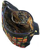 Джинсовая сумка ФЛАГИ, фото 4
