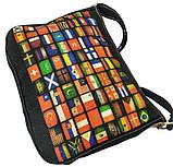 Джинсовая сумка ФЛАГИ, фото 2