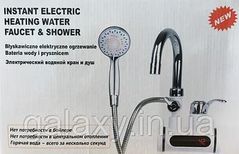3000 Вт мгновенный проточный водонагреватель кран с душем LCD экраном нижнее подключение делимано стиль