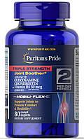 Препарат для восстановления суставов и связок Puritan's Pride Triple Strength Glucosamine Chondroitin with Vitamin D3 (80 таб)
