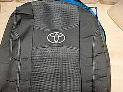 Чехлы на Тойота Аурис (Toyota Auris) E150 2006-2012 / чехлы на сиденья (Nika)