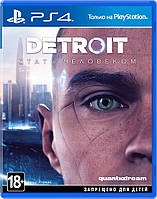 Игра Detroit Become Human на PS4