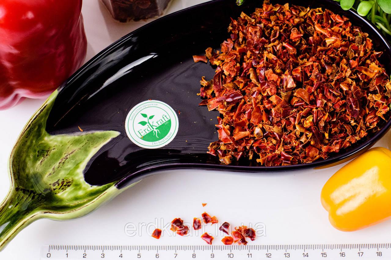 Сушеный красный перец (паприка), 5*5, 1 кг.