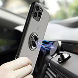 "TPU-PC чехол Deen Shadow Ring series для Apple iPhone 11 Pro (5.8""), фото 3"