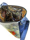 Джинсовая сумка СЛАДКАЯ ПАРОЧКА, фото 3