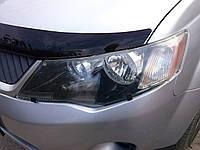 Мухобойка, дефлектор капота MITSUBISHI OUTLANDER XL 06-08 (SIM) SMIOUT0712, фото 1