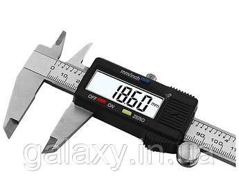 Штангенциркуль электронный в кейсе Digital caliper 150мм глубиномер LCD дисплей