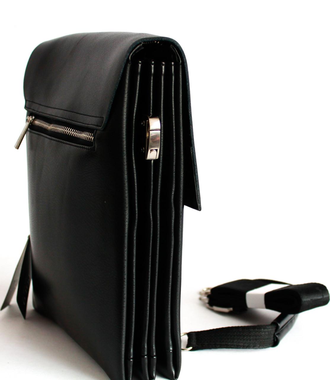 Мужская качественная сумка-планшет из кожзама Polo B886-5