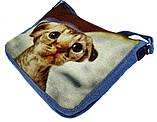 Джинсовая сумка КОТЕНОК, фото 2