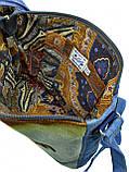 Джинсовая сумка КОТЕНОК, фото 4