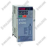 Преобразователь частоты Yaskawa V1000 0.4kW/0.75kW 230V 1ph to 1ph AC