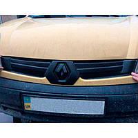 Flyplast Зимняя накладка на решетку радиатора Renault Kangoo I '03-05 верхняя (глянцевая)