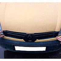 Flyplast Зимова накладка на решітку радіатора Renault Kangoo I '03-05 верхня (матова), фото 1