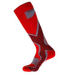 Шкарпетки лижні термоноски Emmitou 38-40 Red-Grey