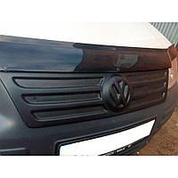 Flyplast Зимняя накладка на решетку радиатора Volkswagen Caddy III '04-10 верхняя (матовая), фото 1