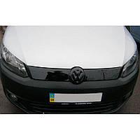 Flyplast Зимняя накладка на решетку радиатора Volkswagen Caddy III '10-15 верхняя (глянцевая), фото 1