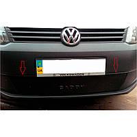 Flyplast Зимняя накладка на решетку радиатора Volkswagen Caddy III '10-15 нижняя (матовая), фото 1