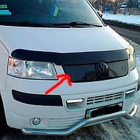 Flyplast Зимова накладка на решітку радіатора Volkswagen T5 '03-10 верхня (глянцева)