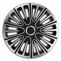 4 RACING Motion Silver&Black R14 КОВПАКИ ДЛЯ КОЛІС (Комплект 4 шт.)