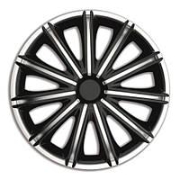 4 RACING Nero Silver&Black R13 КОВПАКИ ДЛЯ КОЛІС (Комплект 4 шт.)