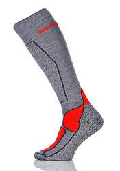 Шкарпетки термоноски лижні Spaio Merino Vigour 35-37 Grey-Red