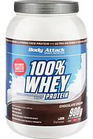 Протеин Body attack 100% Whey Protein (900 г)