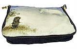 Джинсовая сумка ЕЖИК В ТУМАНЕ, фото 2