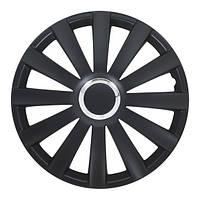 4 RACING Spyder Pro black R16 КОЛПАКИ ДЛЯ КОЛЕС (Комплект 4 шт.)