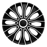 4 RACING Voltec Black&White R14 КОЛПАКИ ДЛЯ КОЛЕС (Комплект 4 шт.), фото 1