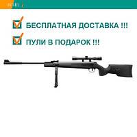 Пневматическая винтовка SPA ARTEMIS SR1250S NP NEW TACT оптический прицел 3-9х40 газовая пружина 380 м/с