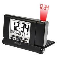 Настольные проекционные часы La Crosse WT525 Black/Silver