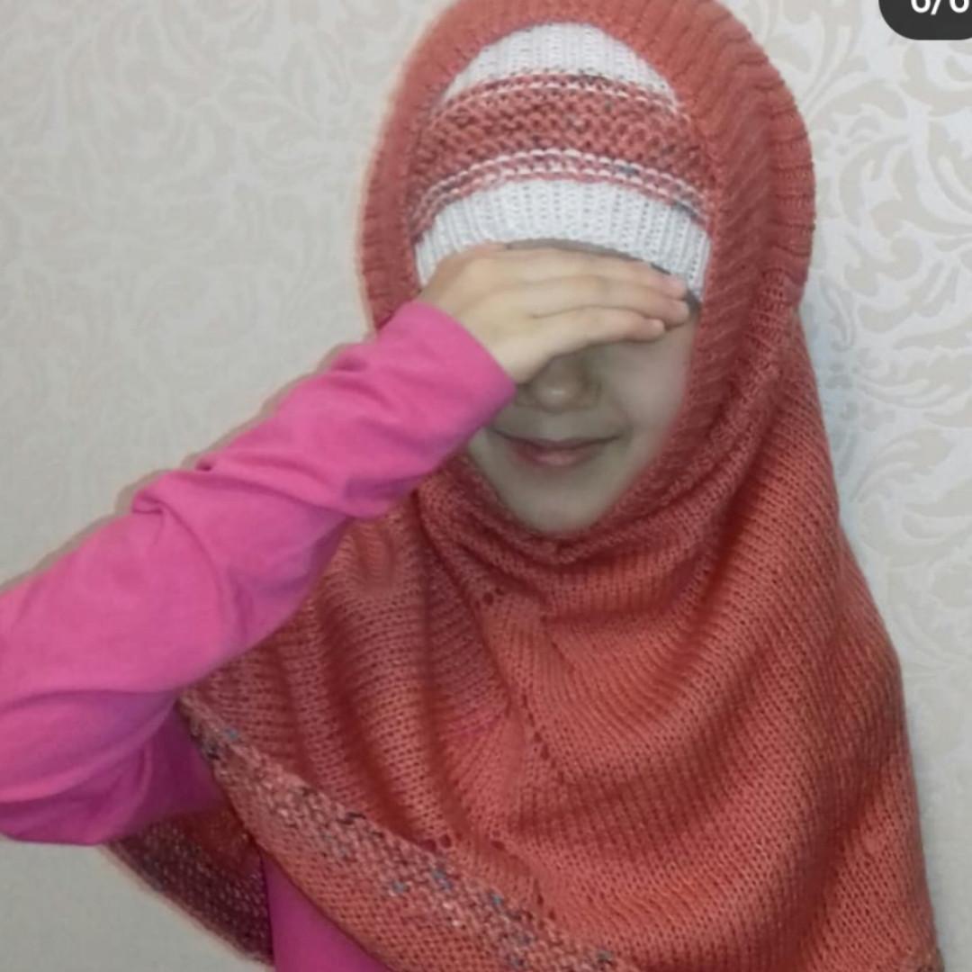 Химар, хиджаб детский теплый.