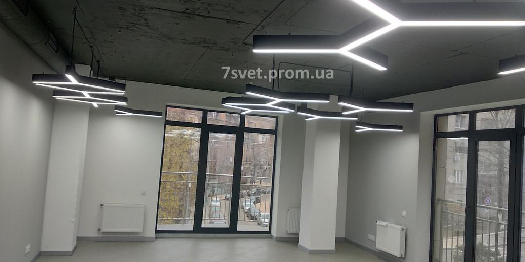 Линейные Светильники из Алюминиевого профиля Офис в Киеве