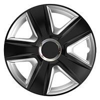 ELEGANT Esprit RC Black&Silver R13 КОЛПАКИ ДЛЯ КОЛЕС (Комплект 4 шт.)
