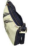 Джинсова сумка КІШКА ФАРАОНІВ, фото 3